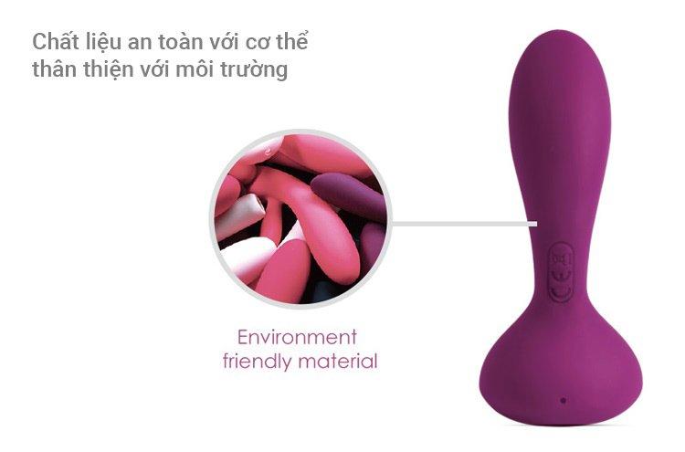 Shop sex toys chính hãng Svakom Julie dụng cụ cắm hậu môn