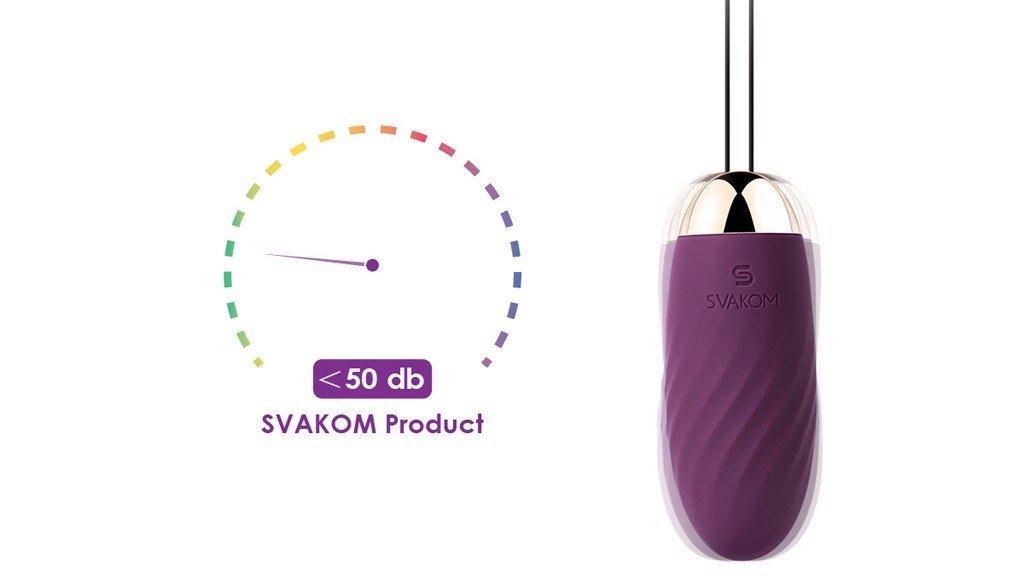 Svakom Elmer trứng rung tình yêu hỗ trợ tình dục nam nữ chính hãng của mỹ