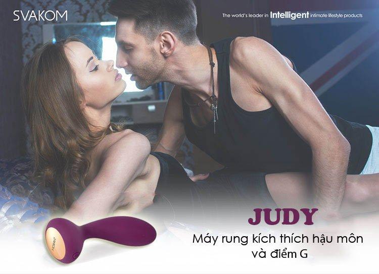 Sextoy cao cấp chính hãng của Mỹ Svakom Judy rung kích thích hậu môn