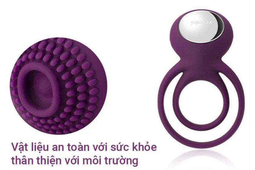 Shop sex toys chính hãng Svakom Tammy vòng đeo dương vật
