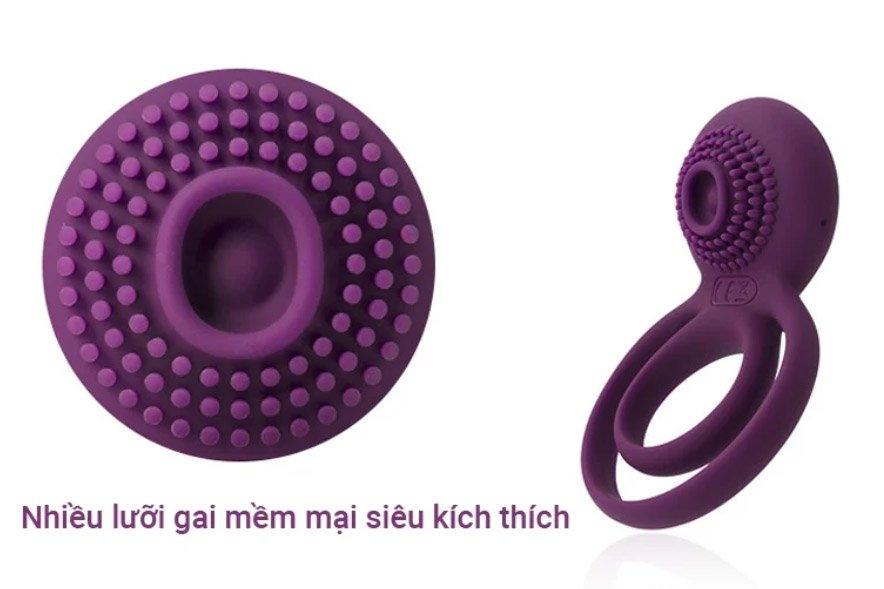 Sextoy cao cấp chính hãng của Mỹ Svakom Tammy vòng đeo dương vật