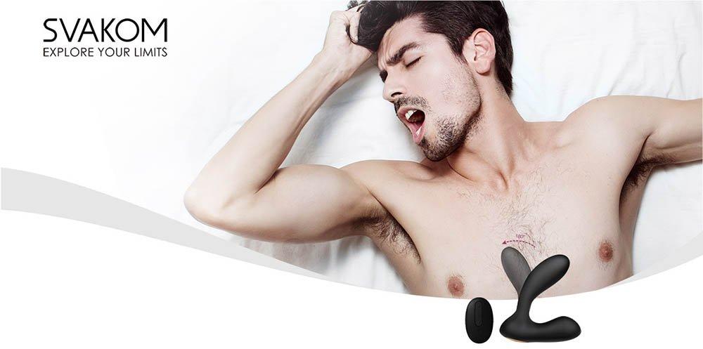 Đồ chơi người lớn Svakom Vick dụng cụ massage hậu môn