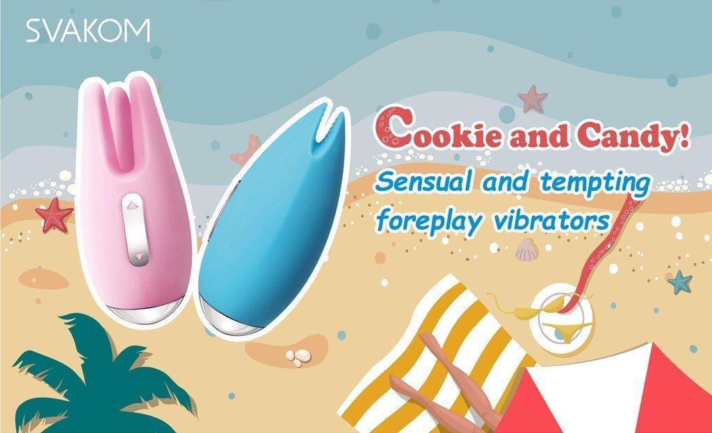 Máy liếm âm đạo Svakom Cookie và Candy cao cấp.
