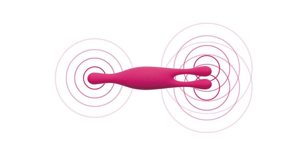 SVAKOM Marin que rung kích thích vùng nhạy cảm gồm 3 điểm rung