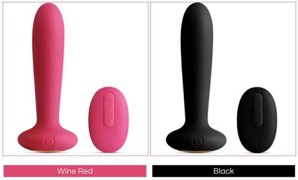 SVAKOM Primo đồ chơi hậu môn có sưởi ấm có hai màu cho bạn lựa chọn