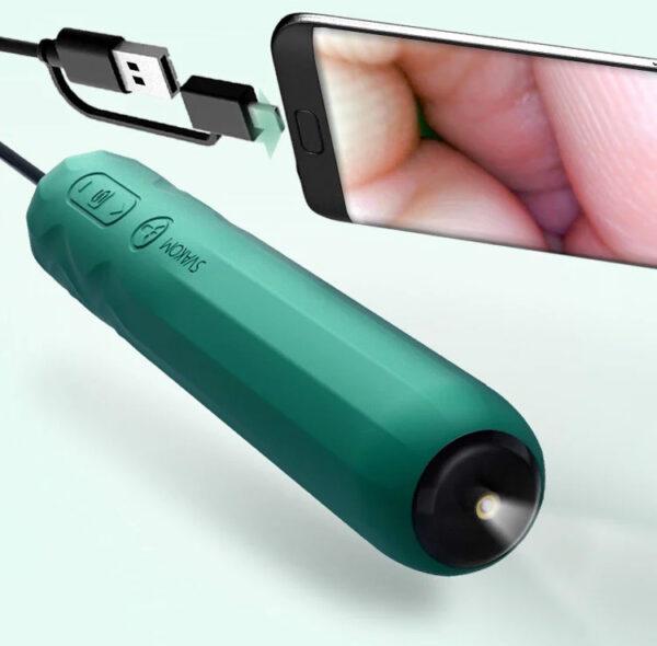 SVAKOM Siime Plus máy rung soi chiếu âm đạo kết nối qua điện thoại