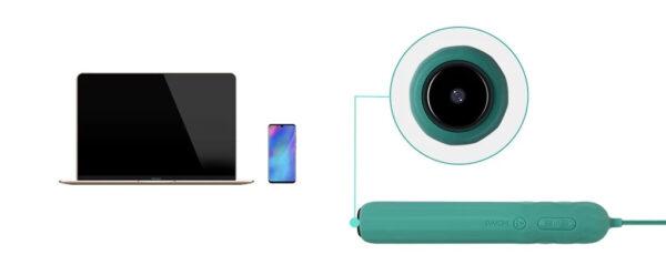SVAKOM Siime Plus máy rung soi chiếu âm đạo lưu video