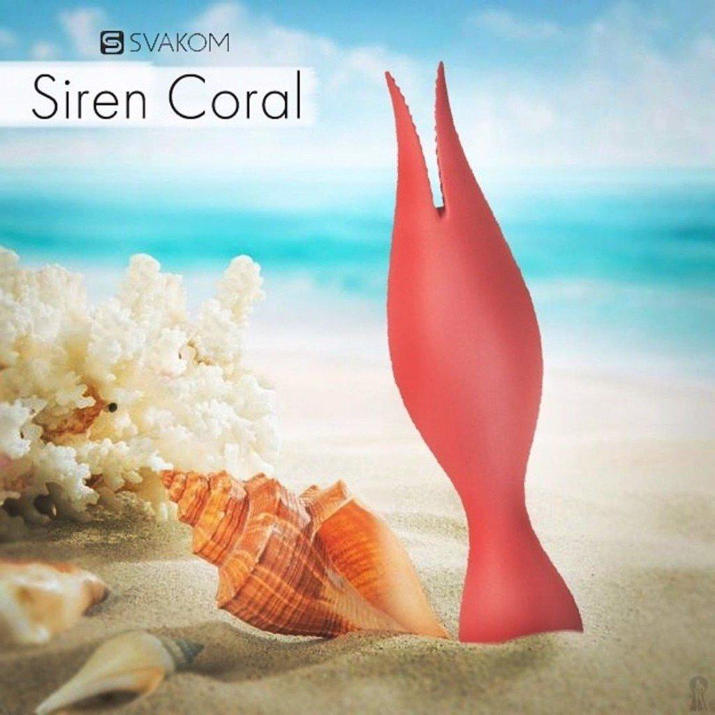 SVAKOM Siren 2 đầu kích thích đa điểm có hình dáng độc lạ