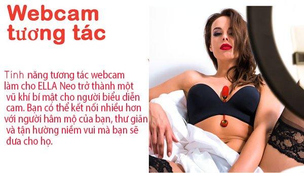 đồ chơi người lớn massage bướm cho nữ trứng rung thông minh Svakom Ella NEO cao cấp chính hãng của Mỹ