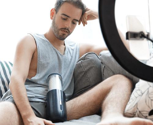 đồ chơi tình dục cao cấp máy thủ dâm nam tự động svakom alex neo